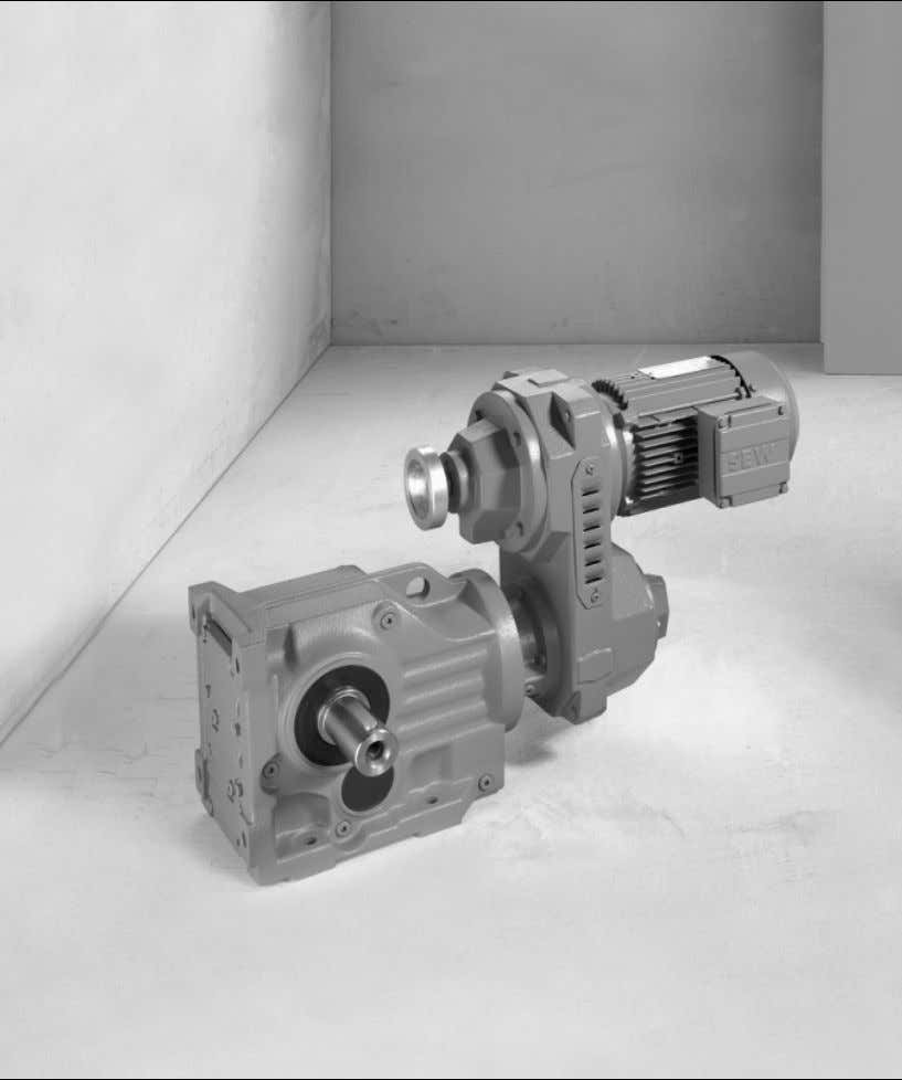 Gear Units \ Drive Electronics \ Drive Automation \ Services Explosion-Proof VARIBLOC ® Variable Speed Gear