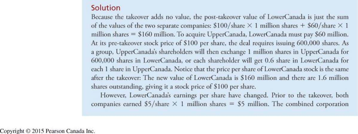 Example 28.2 (cont'd) Copyright © 2015 Pearson Canada Inc. 28-39