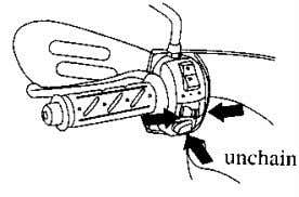 will happen accident. · The turn signal doesn't operate automatic when the main switch on the