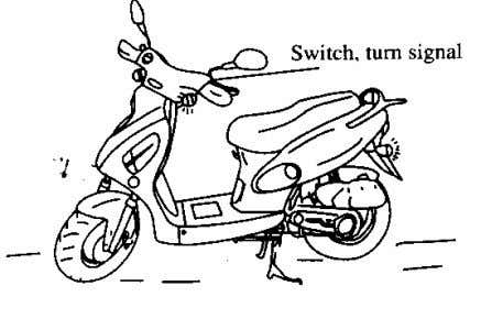 signal can confirm whether all turn signal are switched on. 6 Checking for wheel · Is