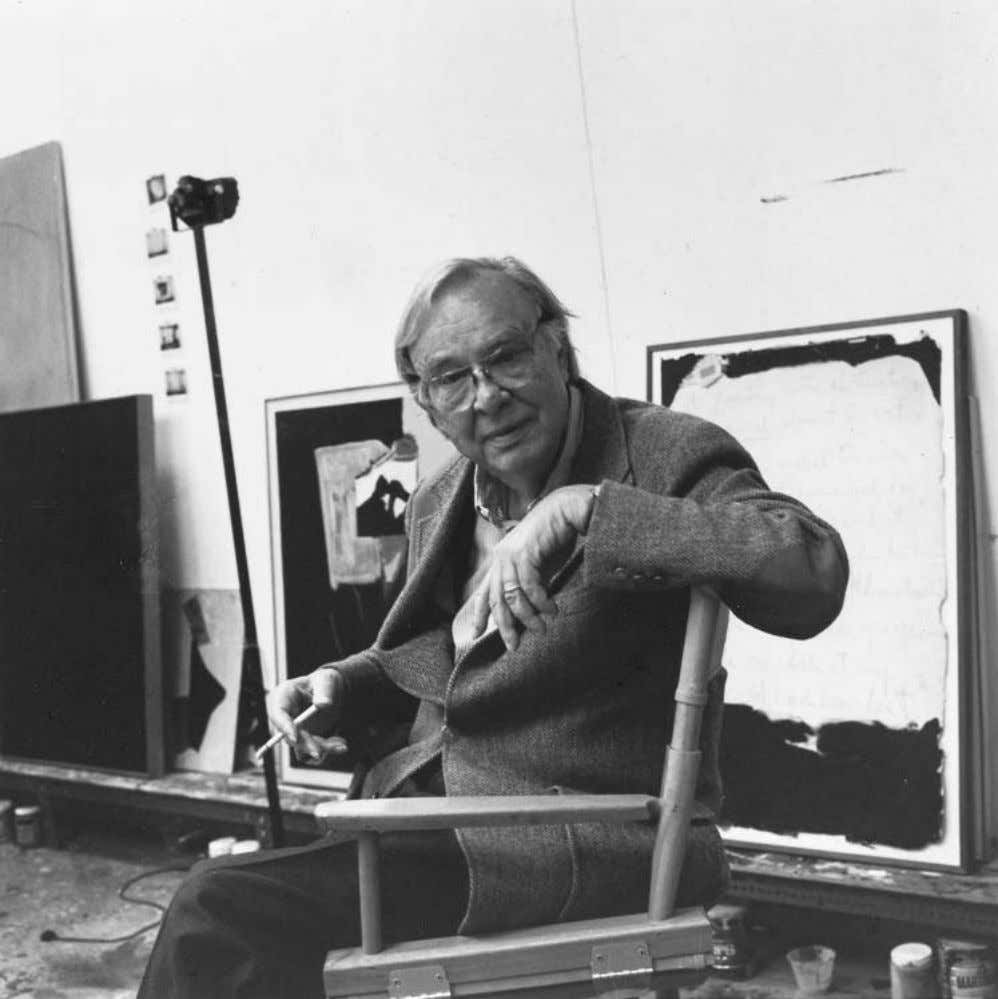 Preface Robert Motherwell, portrait by Renate Ponsold Motherwell, gift of Robert Motherwell. MAC : Did you