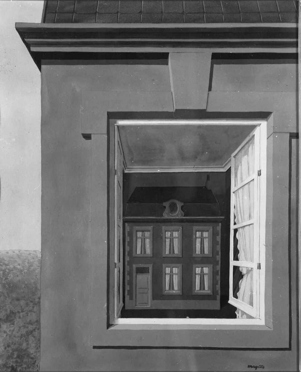 Memoirs of Surrealism Rene´ Magritte, Eloge de la dialectique (In Praise of Dialectics), 1935; photo: Lauros-Giraudon,