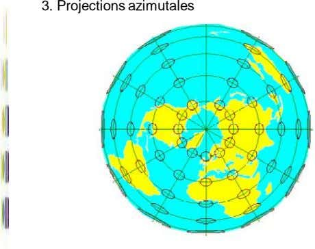 3. Projections azimutales