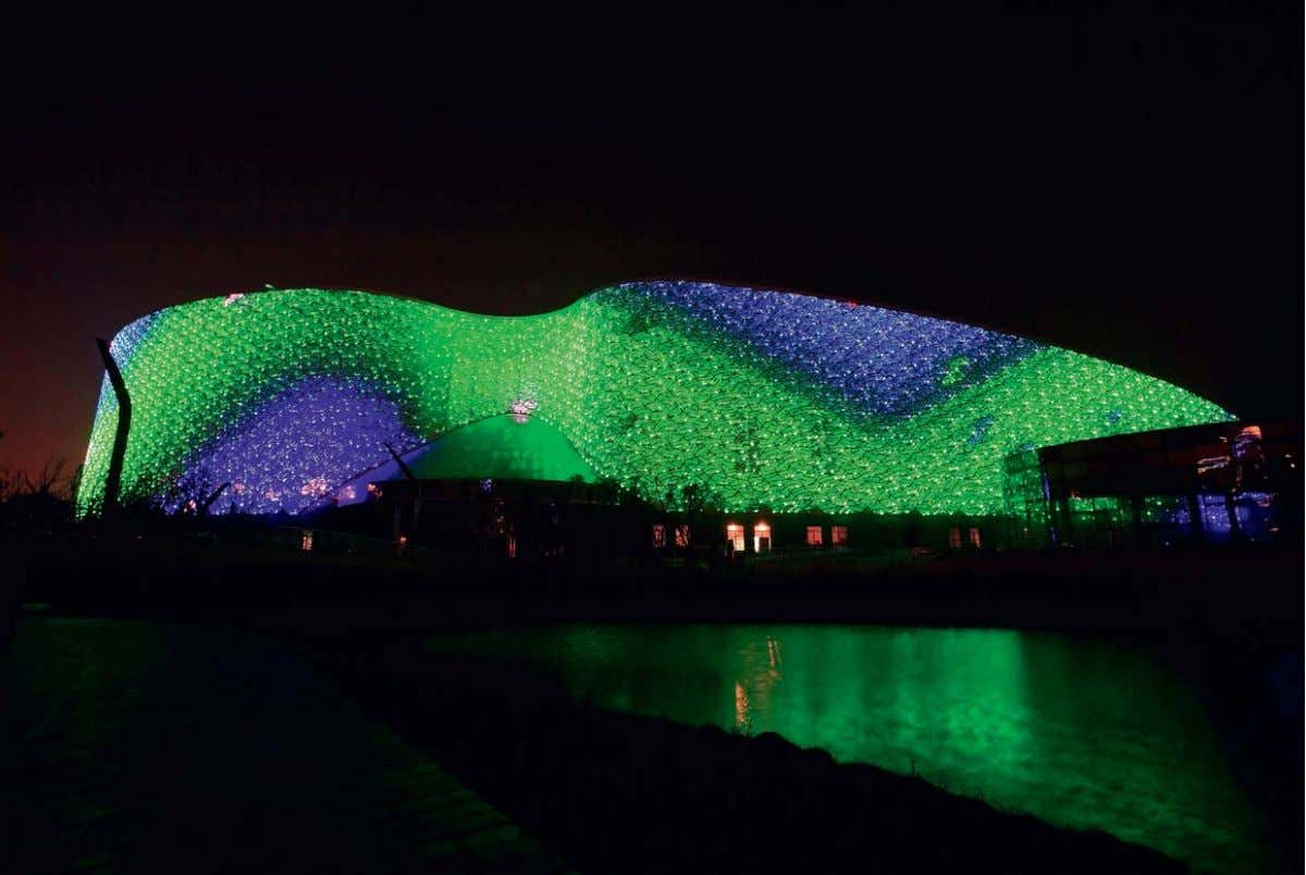 Suzhou science and culture art center, China Architect: Paul Andreu; Paris, France Lighting design: Mr.