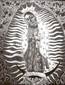 Our Lady of Guadalupe Invitational Art Show Opening December 2, 5-7pm (Show runs through December)