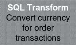 SQL Transform Convert currency for order transactions
