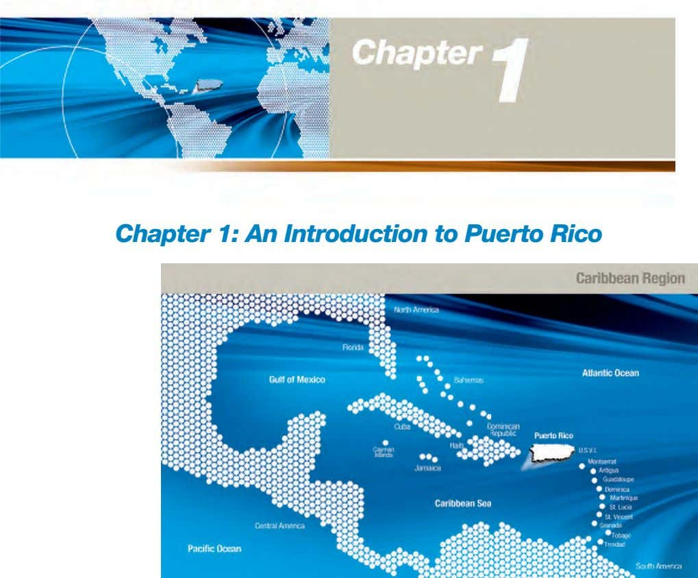 Chapter 1: An Introduction to Puerto Rico