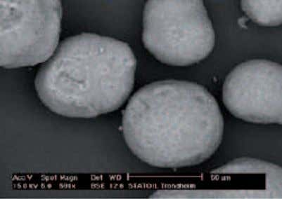 micro- Scanning electron graph of the catalyst The GTL.F1 Catalyst In summary, the cobalt catalyst-slurry