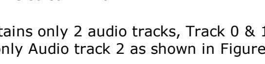 So, in PGC 1, Figure 4a, the movie contains only 2 audio tracks, Track 0