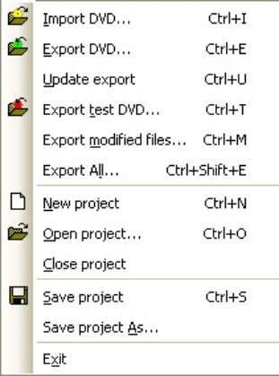 ones. As a safety feature, DvdReMake will not modify your source files. The keyboard shortcut for