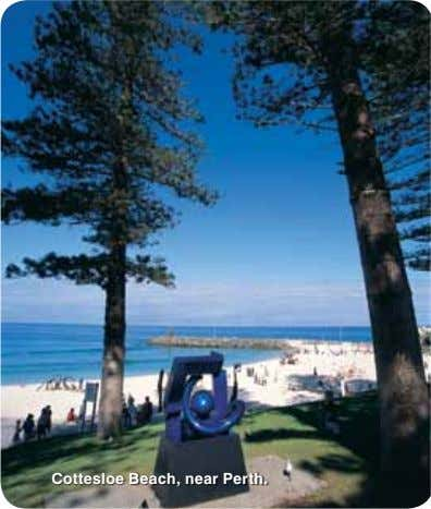 Cottesloe Beach, near Perth.