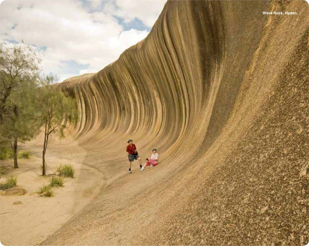 Wave Rock, Hyden.