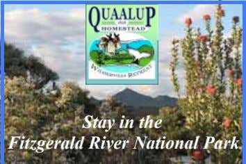 Stay in the Fitzgerald River National Park