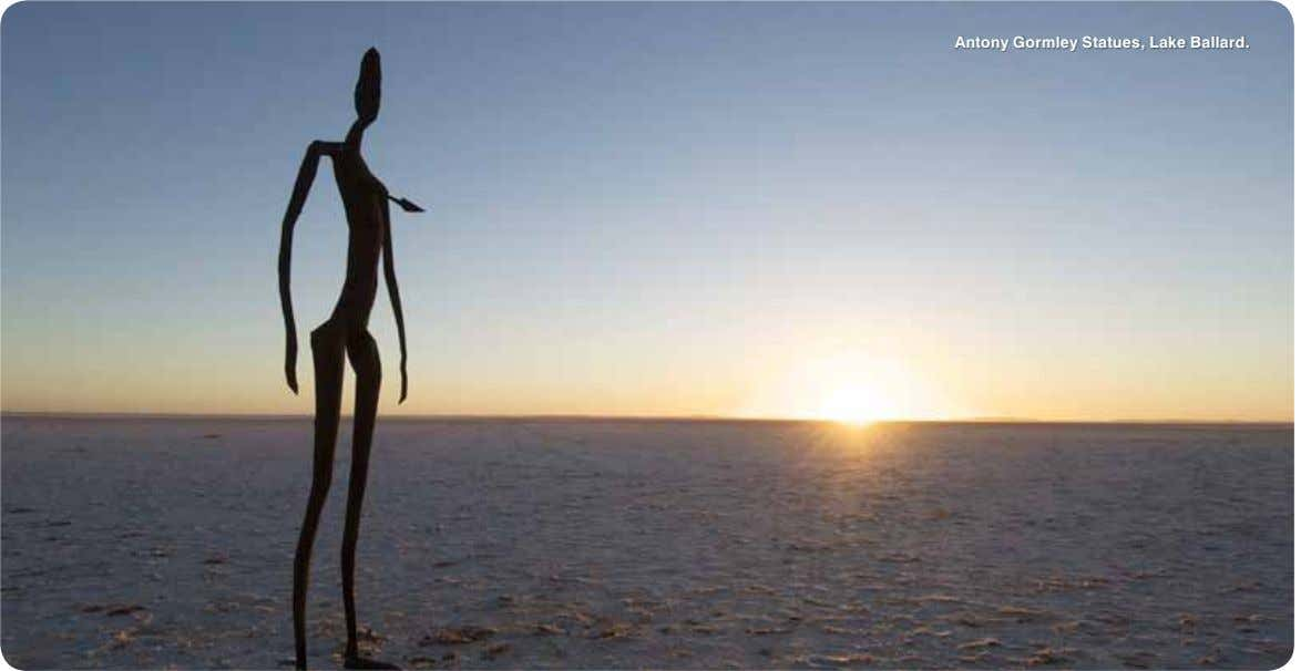 Antony Gormley Statues, Lake Ballard.