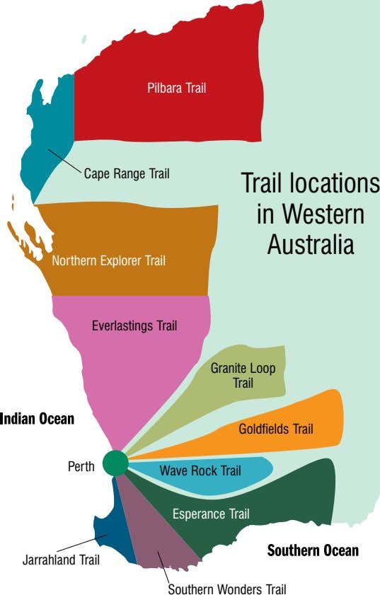 Pilbara Trail Cape Range Trail Trail locations in Western Australia Northern Explorer Trail Everlastings Trail