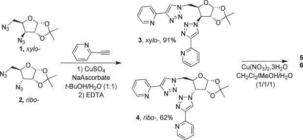 3 , 4 and Cu(II) Glycocomplexes 5 , 6 Garcia et al. 122.9, 122.8, 120.4, 120.2,