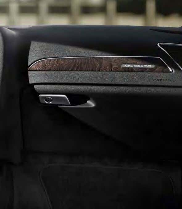A4 interior story We've introduced a number of finishing touches to the Audi A4 interior