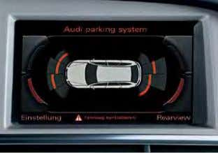 including Apple iPod generation 4 onwards and Apple iPhone Audi parking system plus MMI Navigation system