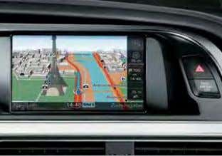 4 onwards and Apple iPhone Audi parking system plus MMI Navigation system plus Safety and security