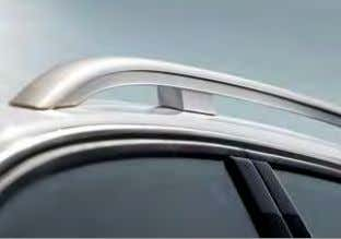 sill extensions Door sill trims with allroad quattro logo High roof rails Interior equipment Door sill