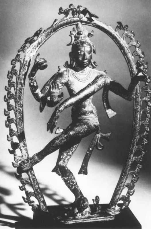 Shiva as 'cosmic dancer' 443 Plate 4 Nataraja, attributed to Pallava period, c . AD 800