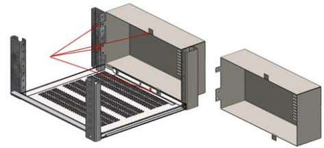 as energy distribution with MCCB in 400mm and 600mm width Abb. 10.2 Optionale Form 4a innere
