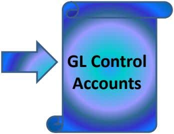 GL Control Accounts