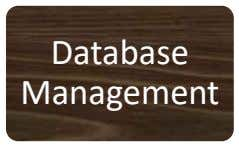 Database Management