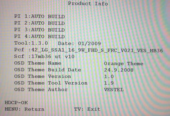 OTHER SETTINGS N V M E d i t Programming Diagnostic Product Info