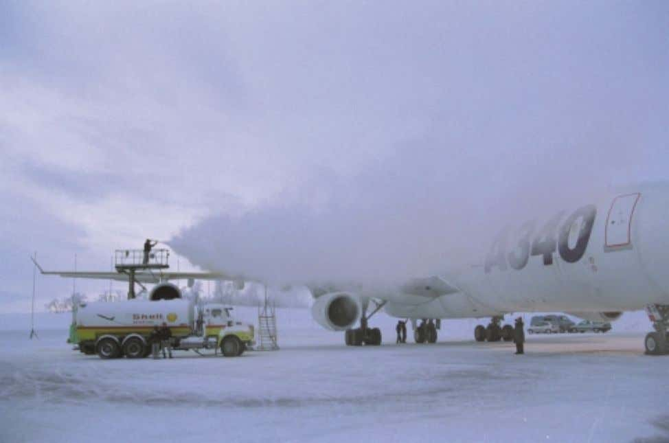 B. AIRCRAFT DE-ICING / ANTI-ICING ON THE GROUND B1 GENERAL Safe aircraft operation in cold weather