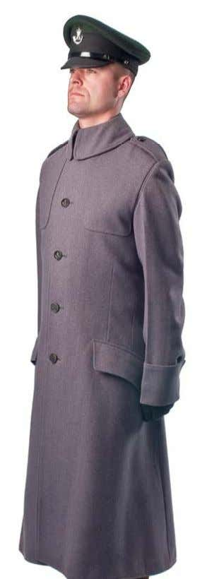 Greatcoat (OR Pattern) Chevrons and Buttons Greatcoats are Parade-Wear only including Full Dress and Band Uniforms