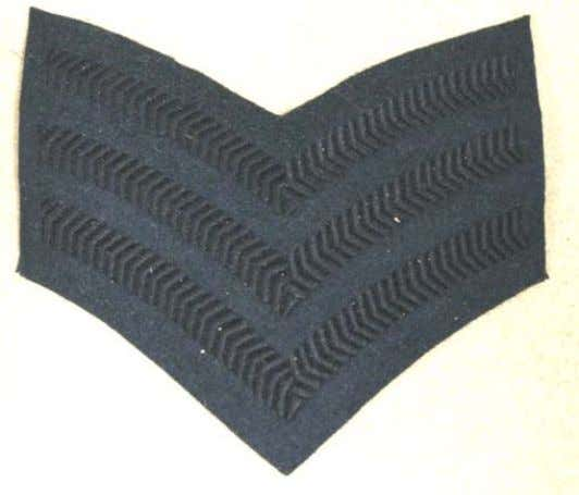 "2 Stripes L/Corporal: 8455-99-974-2092 1 Stripe These Rank Insignia tend to ""run and shrink"" when washed"