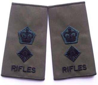 patterns on an as required basis through RiflesDirect . Rifles Rank Slide Captain Rifles Rank Slide