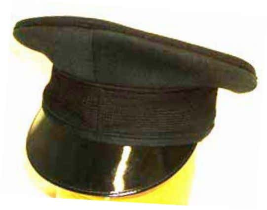 Rifles No 1 Hat ORs Name: Cap, Service Other Ranks Description: Cap, Service. Rifle green. Cloth,