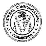 PUBLIC NOTICE FEDERAL COMMUNICATIONS COMMISSION 445 12th STREET S.W. WASHINGTON D.C. 20554 News media information