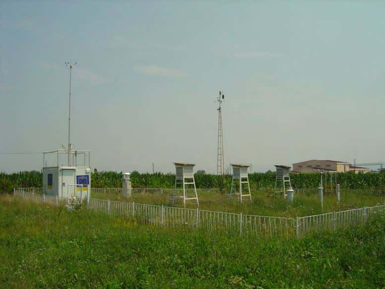 report for the open coal pit mine Brod – Gneotino Figure 5.5 Monitoring Station in Bitola