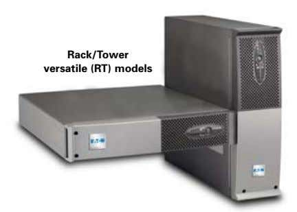 Rack/Tower versatile (RT) models