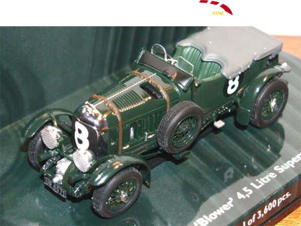 "Bentley4,5Litres""Blower""Abandon1930 Minichamps"