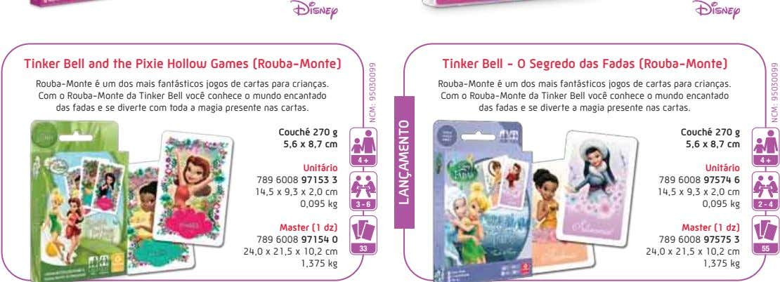 Tinker Bell and the Pixie Hollow Games (Rouba-Monte) Tinker Bell - O Segredo das Fadas