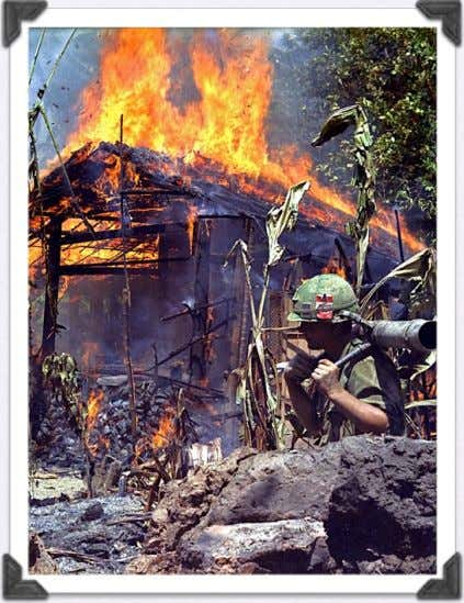 major bombing campaigns across Vietnam • They sought to destroy the Ho Chi Minh Trail, Hanoi,