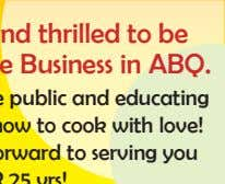 We are so humbled and thrilled to be recognized as a Favorite Business in ABQ.