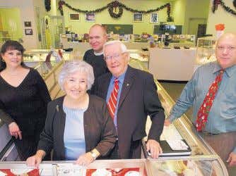 2. Harris Jewelers 909 36th Place SE, Rio Rancho; 892-3841 Theresa Maxey, Anne Butterfield, Bill Max-