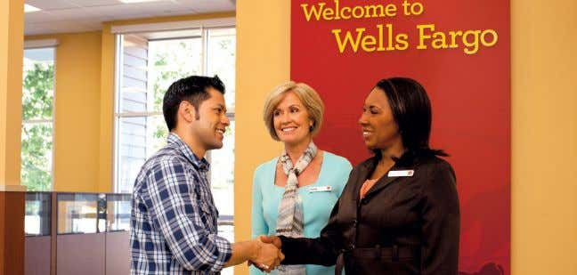 Journal readers for voting Wells Fargo 'Best Bank'* Our bankers live and work in your community
