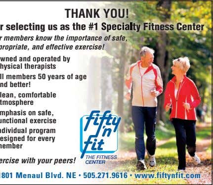 he #1 Specialty Fitness Center