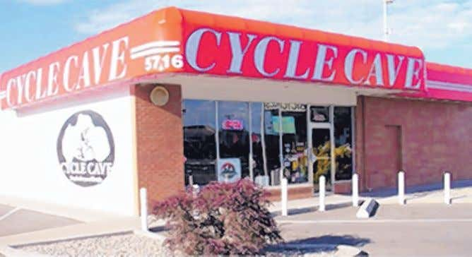 READERS' CHOICE AWARDS 2016 7 SHOPPING Cycle Cave BIKE SHOP WINNER: Cycle Cave 5716 Menaul NE;