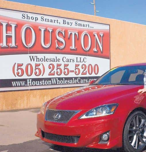 NOTABLES: Don Chalmers Ford; Garcia Subaru; Larry H. Miller Toyota; Perfection Honda; Rich Ford Houston Wholesale