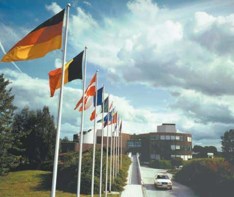 most innovative instru- mentation move into space some two ESO Headquarters in Garching. or three decades