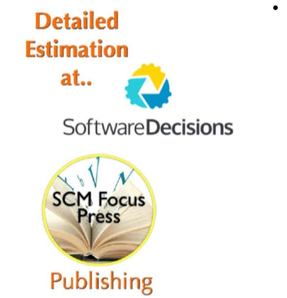 accurate enterprise software estimation database. See Here Interested in practical books to improve the management of