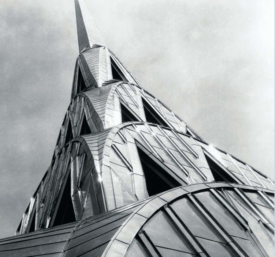 "TABLE OF CONTENTS "" The Chrysler Building in New York City testifies to the long"