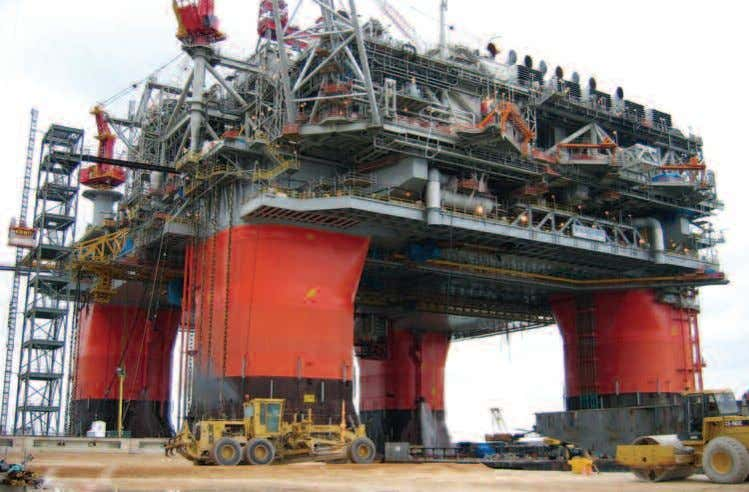 Offshore platforms rely on nickel-containing stainless steels for processing equipment and piping, as well as